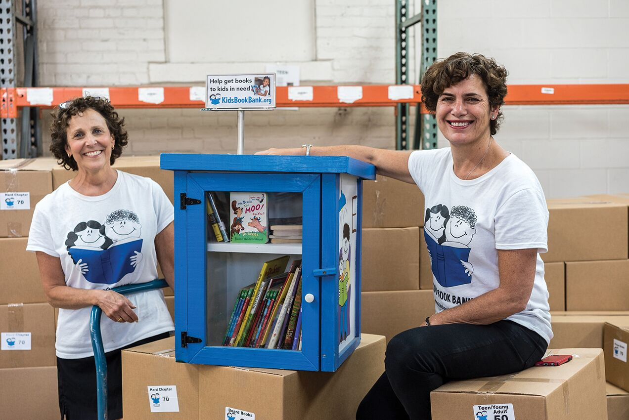 Cleveland Kids' Book Bank co-founders Judy Payne and Judi Kovach